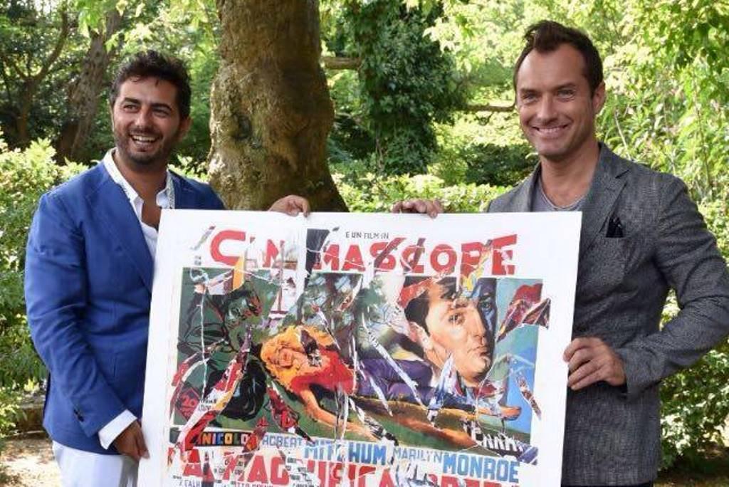 Gianvito Casadonte con Jude Law