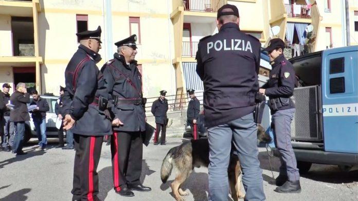 Catanzaro, Polizia e Carabinieri