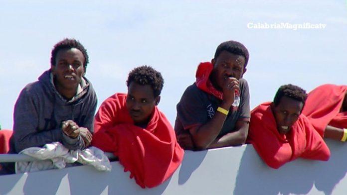 Migranti: nuovi sbarchi in Calabria (FOTO DI REPERTORIO)