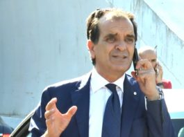 Enzo Bruno, presidente della provincia di Catanzaro