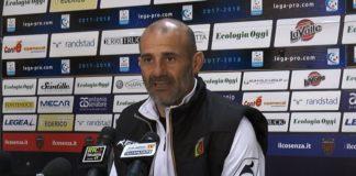 Cosenza-Catanzaro 0-0: Mister Pancaro in sala stampa