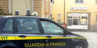 Guardia di finanza, casa di cura Tricarico S.R.