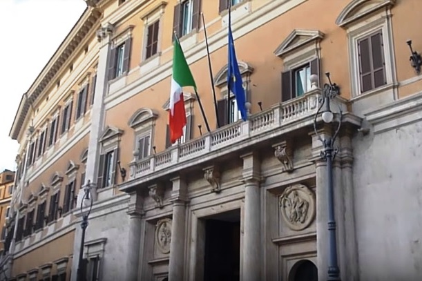 Palazzo Montecitorio a Roma