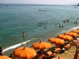 Squillace lido, estate, balneazione, mare