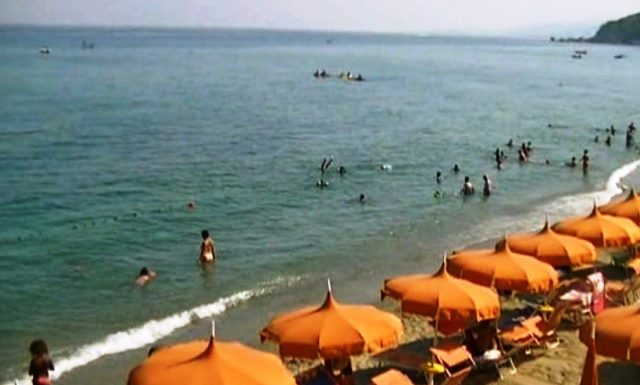 Squillace lido, estate, balneazione, mare
