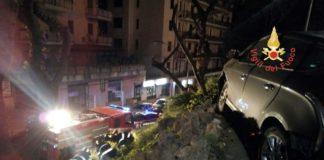 Vigili del fuoco incidente Catanaro