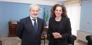 Wanda Ferro incontra il prefetto di Vibo Guido Longo