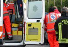 Ambulanza, 118, incidente stradale