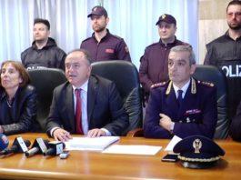 Catanzaro assalto al caveau Sicurtransport: presi gli autori (immagine conferenza stampa)