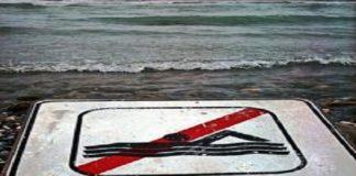 divieto di balneazione