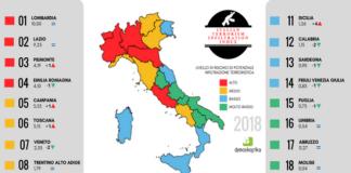 terrorismo in Italia: dati demoskopika