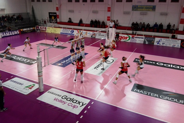 Volley Soverato 2 Battistelli San Marignano 3: