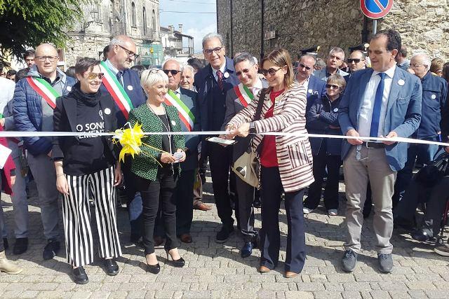 """Cicala (Cz): inaugurato borgo amico delle demenze e centro diurno """"Antonio Doria"""""""