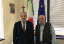 Il Presidente dell'accademia Giuseppe Soriero e il Direttore Vittorio Politano