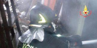 Vigili del Fuoco, incendio