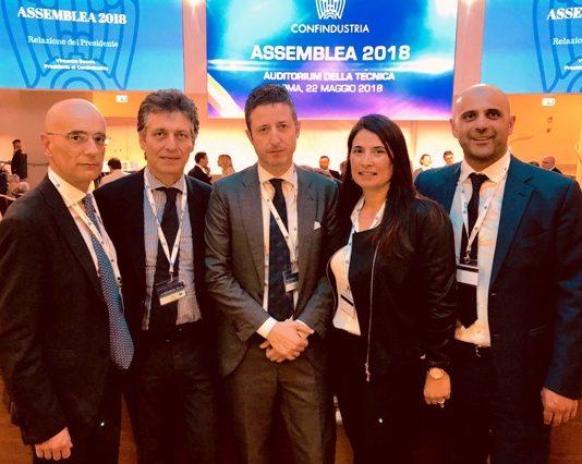 da sinistra Lamanna, Ferrara, Rossi, Giglio, Crivaro