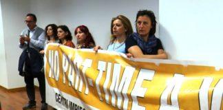 Operatore Centri per l'Impiego protestano alla Cittadella Regionale