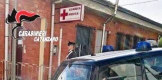 Carabinieri Catanzaro Guardia medica