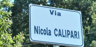 Via Nicola Calipari Pentone