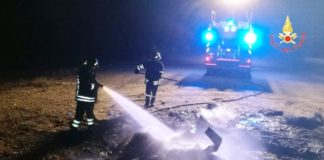 incendio rifiuti Roccelletta di Borgia