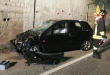 incidente stradale via stretto antico Catanzaro