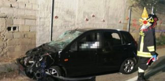 incidente stradale via stretto antico Catanzaro