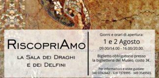 Locandina Museo Riapertura mosaico ritaglio