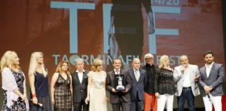 MICHELE AFFIDATO TAORMINA FILM FEST