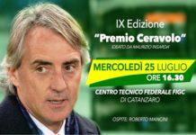 Roberto Mancini premio Ceravolo