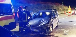 Viale Crotone incidente stradale-min