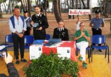 La premiazione del brigadiere Salvatore Salerno-min