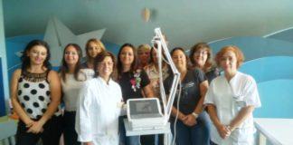 donato elettrocardiografo reparto oncologia pediatrica del Puglese