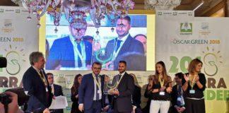 Glauco Gallo riceve il premio nazionale Oscar Green-min