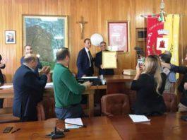 Ruggero Pegna cittadinanza onoraria Oppido Mamertina