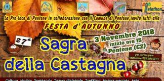Sagra castagna 2018