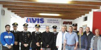 Avis e Carabinieri raccolta sangue