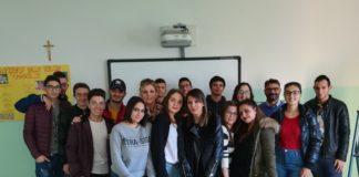 gli studenti dell' ITI Nicholas Green