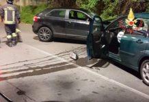 incidente stradale Piterà
