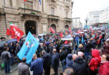 manifestazione LSU LPU