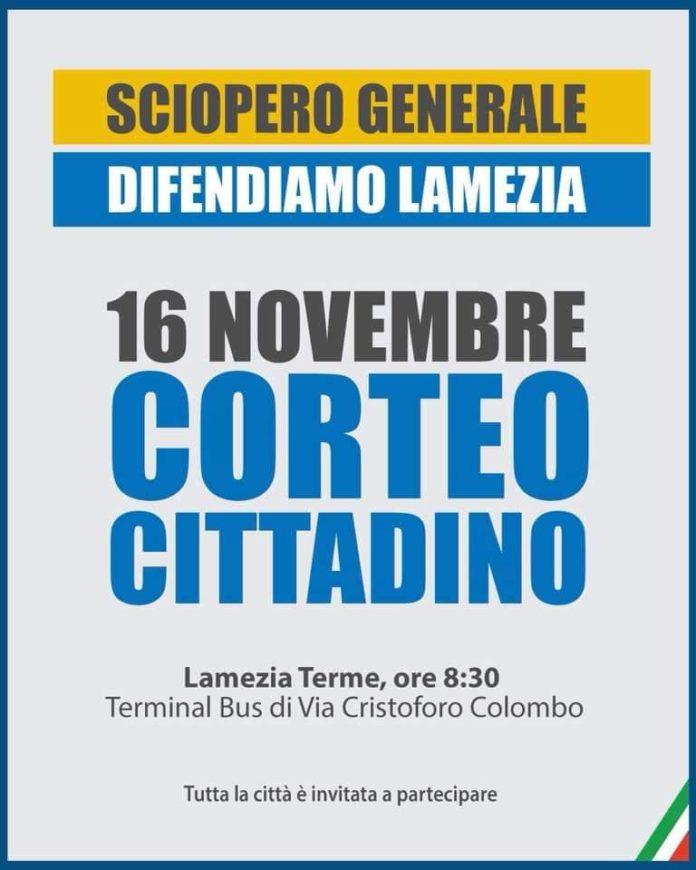 sciopero 16 novembre