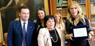 avvocato Margherita Corriere con Gassani e Bruzzone