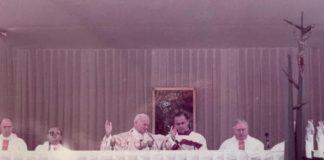 Giovanni Paolo II visita Catanzaro 1984