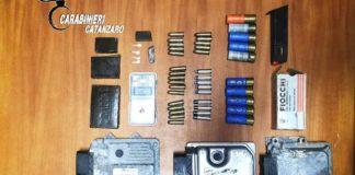deposito munizioni e droga