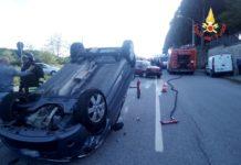 incidente stradale Chiaravalle Centrale