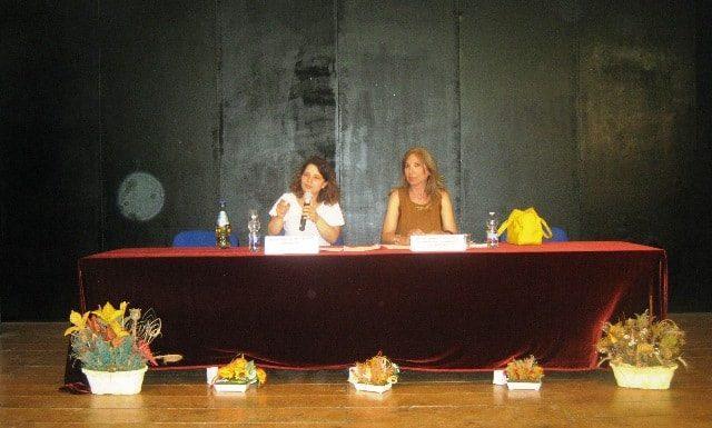 L'autrice Pettinato e la direttrice Paravati