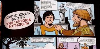 "Presentata a Catanzaro graphic novel ""Cassiodorus the great writer, politician man of faith"""