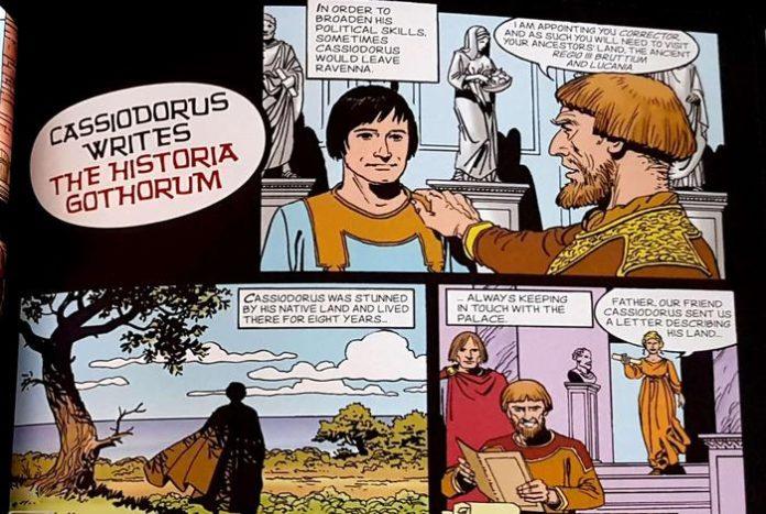 Presentata a Catanzaro graphic novel