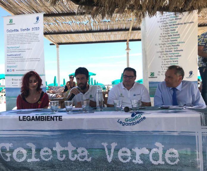 goletta verde Conferenza stampa presentazione dati Calabria