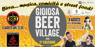 gioiosa beer village