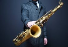 Jazz, sassofono, musicista